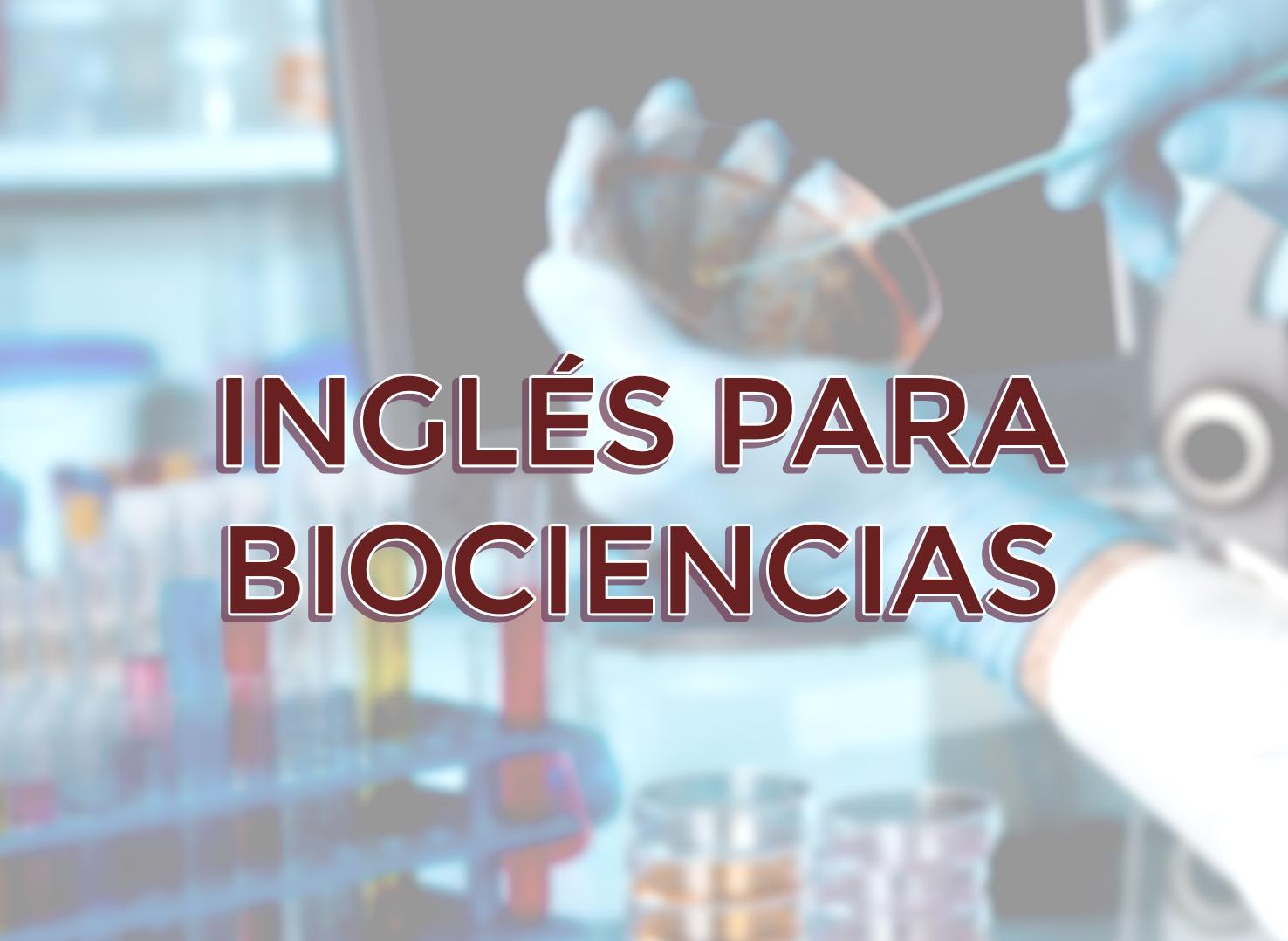 Examen de inglés para Biociencias